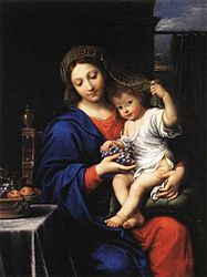 Pierre Mignard: The Virgin of the Grapes