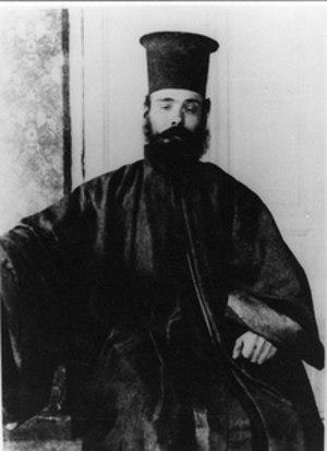 Michail Anagnostakos - Anagnostakos disguised as a monk