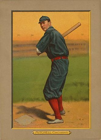 Mike Mitchell (baseball) - Image: Mike Mitchell card