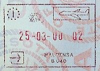 Milan Malpensa Airport passport stamp.jpg