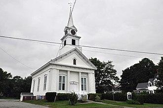 Milbridge, Maine - The church in Milbridge center