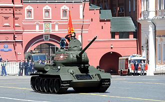 2016 Moscow Victory Day Parade - T-34