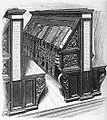 Milkau Die Biblioteca Medicea Laurenziana in Florenz - Bücherschrank aus der Bibliothek 242-2.jpg