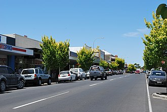 Millicent, South Australia - Main street