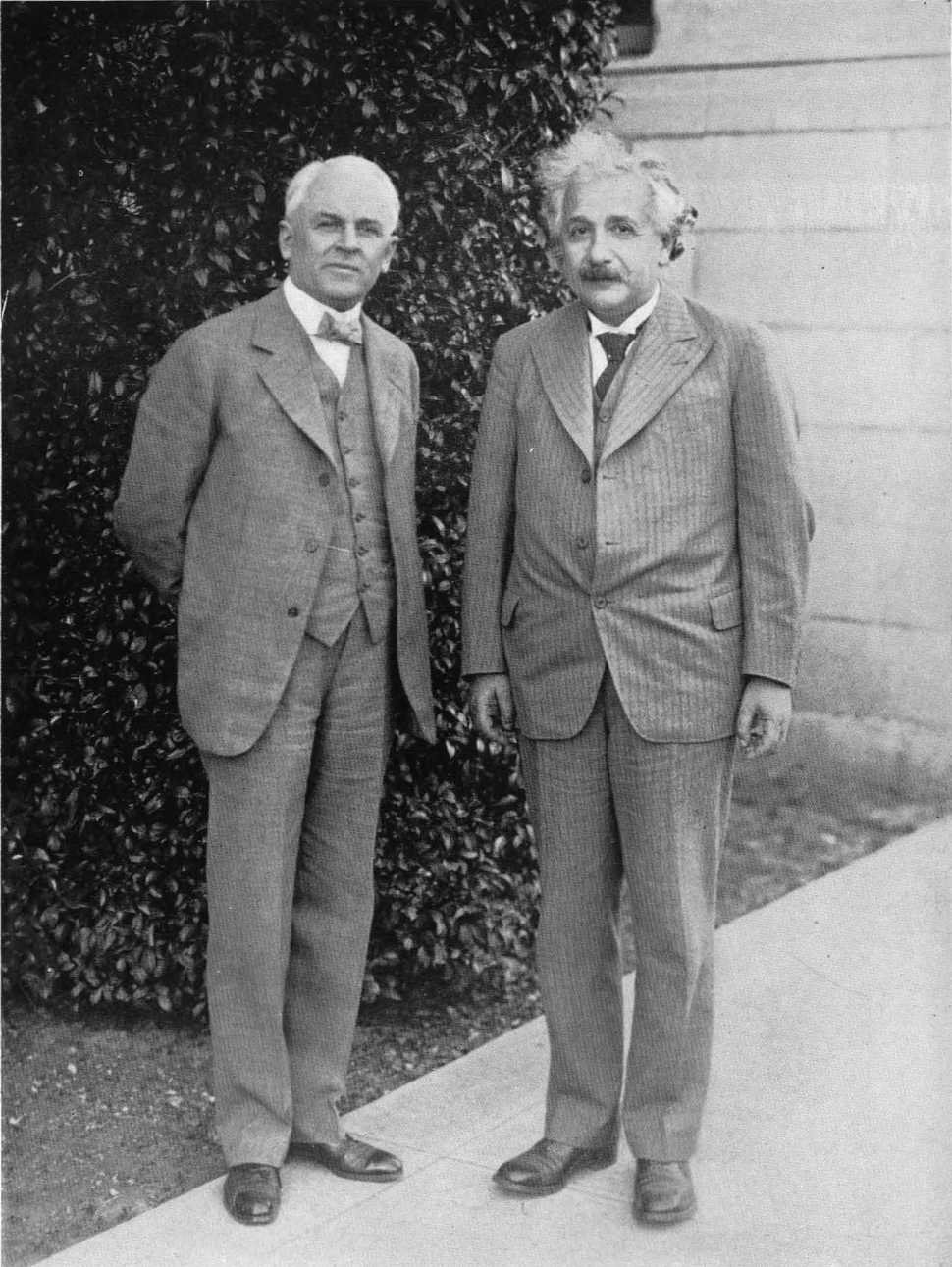 Millikan and Einstein 1932