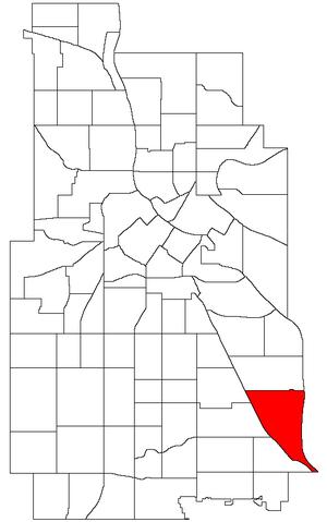 Hiawatha, Minneapolis - Image: Minneapolis Hiawatha Neighborhood