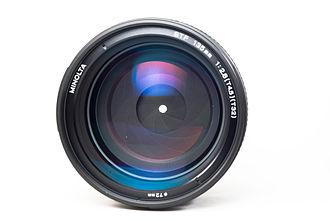 Minolta STF 135mm f/2.8 T4.5 - Image: Minolta STF 02