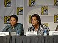 Misha Collins, Jared Padalecki & Jensen Ackles (4852615642).jpg