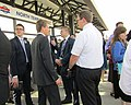 Missionaries at train station (27726100468).jpg