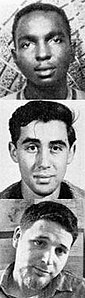 Mississippi KKK Conspiracy Murders June 21 1964 Victims Chaney Goodman Schwerner.jpg