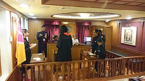 KidZania - Mock Court, KidZania Bangkok, 2015