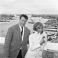Modesty Blaise film van Amerikaan Joseph Losey. Filmopnamen te Amsterdam. Moni, Bestanddeelnr 917-9563.jpg