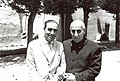 Mohammad Mossadegh with his close friend and associate Mohammad Ali Keshavarz Sadr.jpg