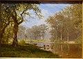 Mohawk River, New York, by Albert Bierstadt, 1864, oil on canvas - Portland Art Museum - Portland, Oregon - DSC08750.jpg