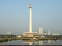 Monas view from Gambir Bus Terminal.JPG