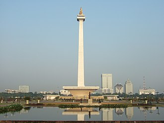 Central Jakarta - The National Monument is located in the City of Central Jakarta.