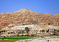Monastery of the Temptation from Jericho wall ruins.jpg