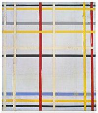 Mondrian - New York City 2 (unfinished, formerly New York City III), 1941.jpg