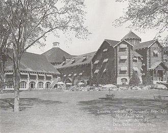 Château Montebello - Château Montebello in 1930