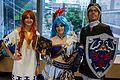 Montreal Comiccon 2016 - Malon, Lana and Link (28202858161).jpg