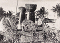 Monument at Tinian in 1932.png