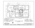 Moody Parsonage, Rockingham, Rockingham County, NH HABS NH,8-ROCK,1- (sheet 1 of 19).png