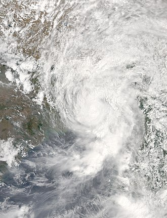 2017 North Indian Ocean cyclone season - Image: Mora 2017 05 30 0720Z