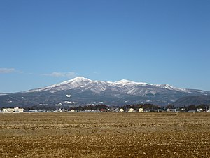 Mount Adatara - Viewed fom the SE.