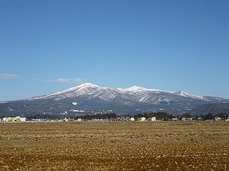 Mount Adatara - Viewed from the SE.