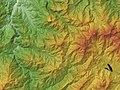 Mount Amakazari Relief Map, SRTM-1.jpg