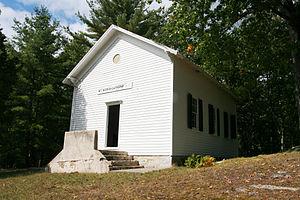 Baughman Settlement, West Virginia - Mount Moriah Lutheran Church