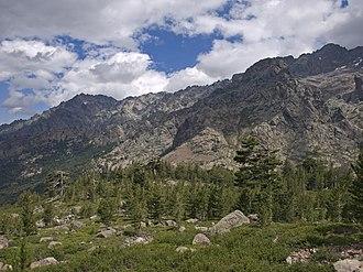 Asco, Haute-Corse - Mountains in Haut-Asco