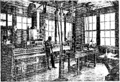 Mr. Turney in his Laboratory from the March 1916 QST.png