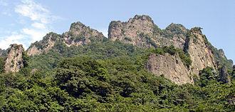 Mount Myōgi - Mount Myōgi in the summer