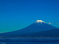 Mt. Fuji from Suruga Bay in winter.jpg