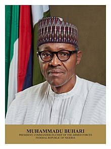 Muhammadu Buhari, President of the Federal Republic of Nigeria.jpg