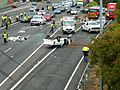 Multi vehicle accident - M4 Motorway, Sydney, NSW (8076218867).jpg