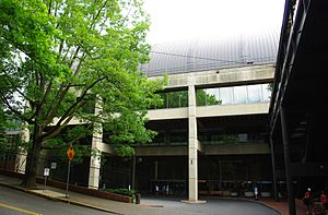 Multnomah Athletic Club - Entrance to the main facility