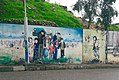 Mural in Akre of Kurdish refugees during the Anfal.jpg