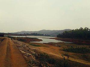 Jhalda - Murguma dam, Jhalda. Purulia