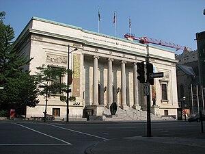 Français : Bâtiment de 1912 du Musée des Beaux...