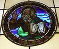 Museo di santa croce, vetrata attr. alesso baldovinetti, padre eterno benedicente.JPG