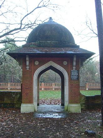 Horsell Common - Image: Muslim Burial Ground TQ0159 224