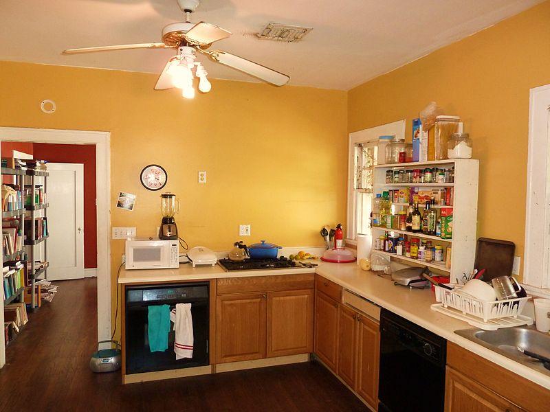 Beech Kitchen Wall Cabinets
