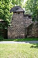 Nürnberg, Stadtbefestigung, Spittlertormauer, Kasemattenturm XIX 20170616 001.jpg