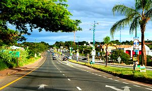 Nelspruit - The Main Road (N4) Entering the City