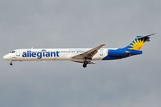 Allegiant Air - A now retired Allegiant Air McDonnell Douglas MD-83