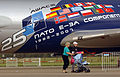 NATO E-3 AWACS 25th anniversary paint job, NATO Air Base Geilenkirchen.jpg