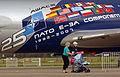 NATO E-3 AWACS 25th anniversary paint job, NATO Air Base Geilenkirchen.jpg