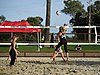 NCAA beach volleyball match at Stanford in 2016 (26424958112).jpg